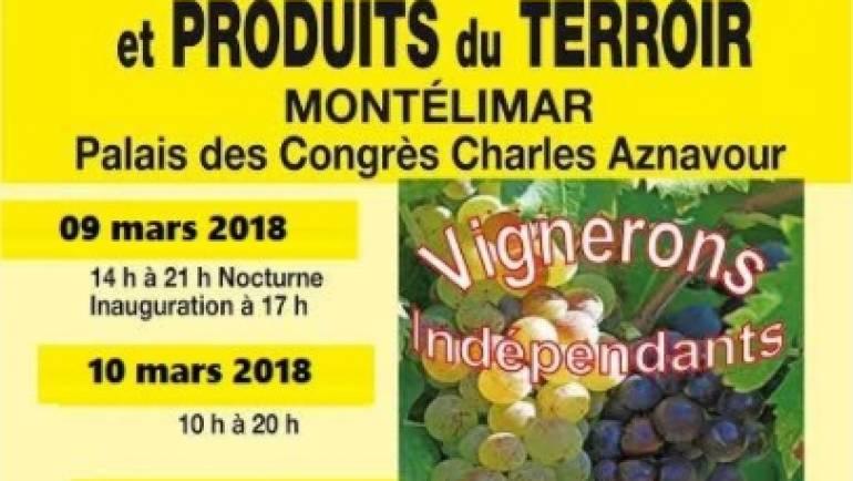 Morgon Mathon présent au 14e salon des vins de Montélimar